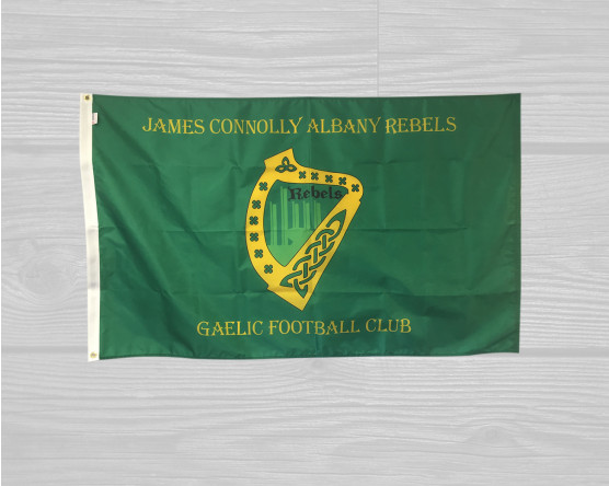 Custom gaelic football flag