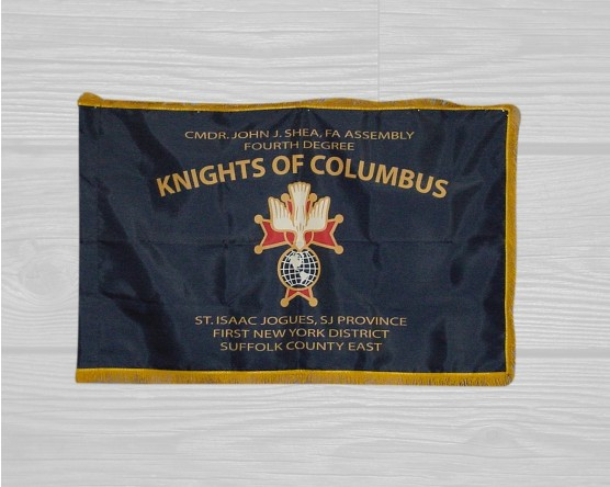 Knights of Columbus Parade Flag