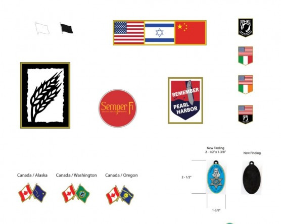 Custom Lapel Pin Design Examples