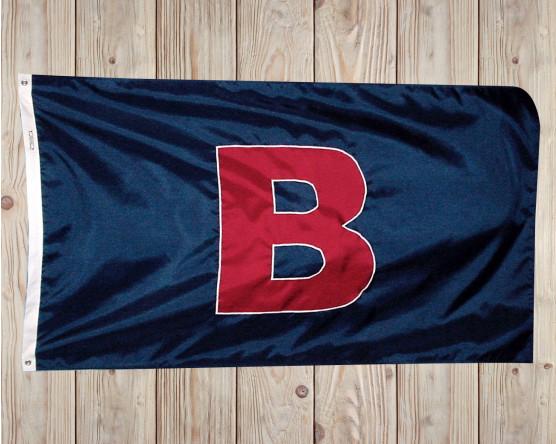 Custom personal B flag