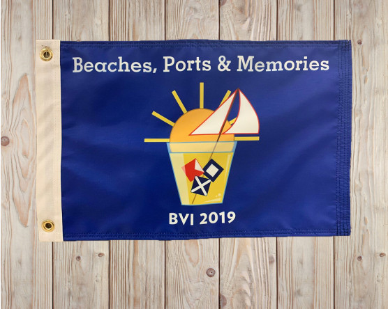 custom personal boat flag
