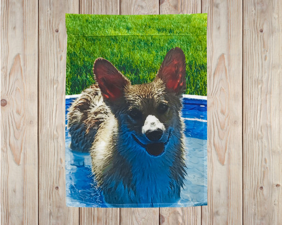 Pet Photo Garden Flag