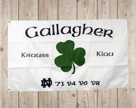Custom irish flag