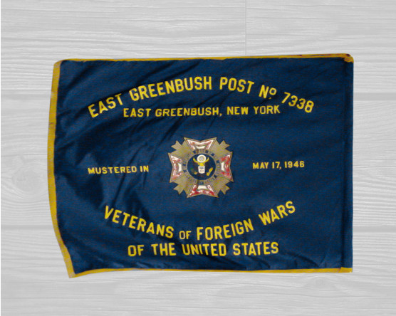 custom VFW flag