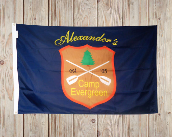 Family Camp Flag