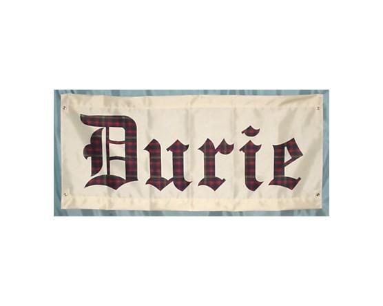 Durie Tartan Banner