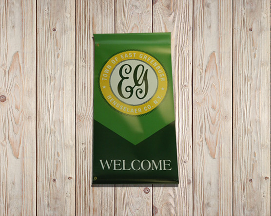East Greenbush Welcome Banner
