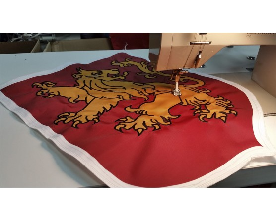 Rampant Lion Applique