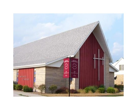 Church Corner Flags