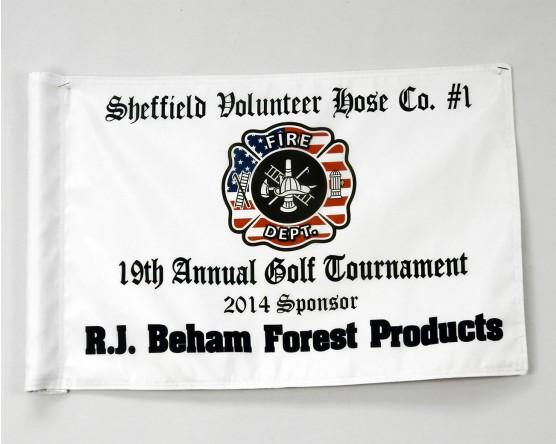 Sponsor Golf Flag