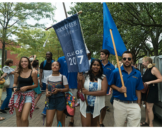 Goucher College Banner
