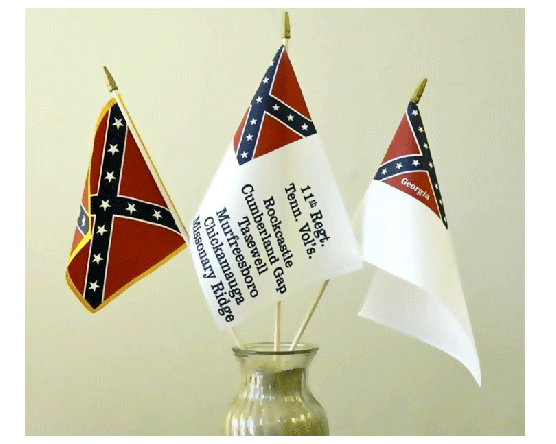 Historical Civil War Flags