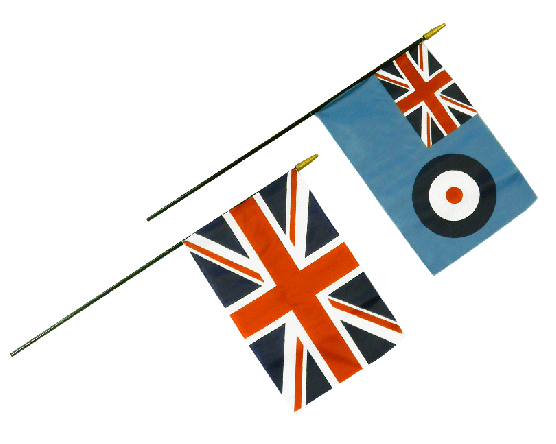 Historical Stick Flag
