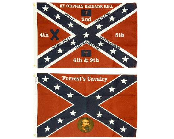 Historic Civil War Regiment Flag