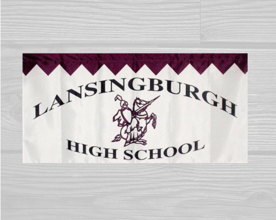 School Marching Banner