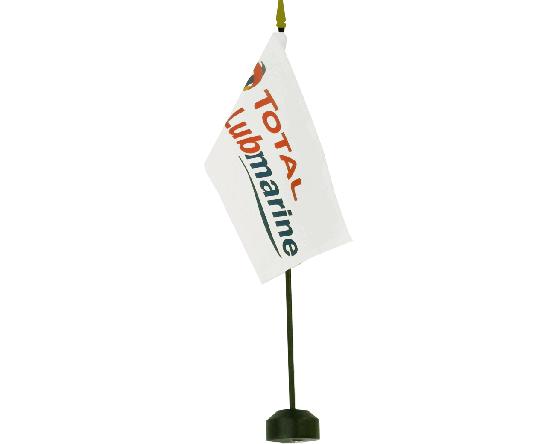 Company Logo Stick Flag