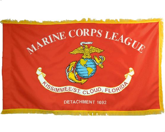 Marine Corps League Kissimmee St. Cloud Flag