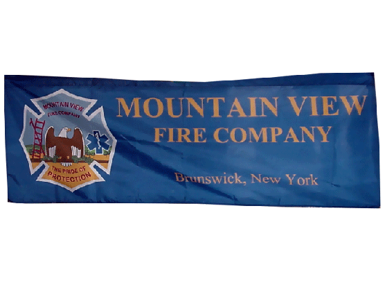Fire Company Marching Banner
