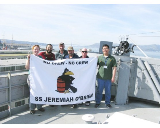 SS Jeremiah O'Brien Flag