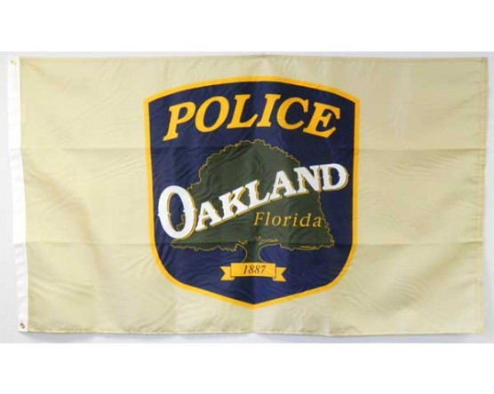 Oakland Police Department Flag