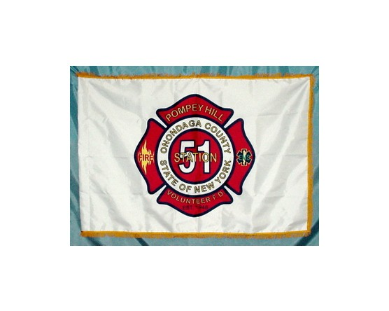 Pompey Hill Volunteer Fire Department Flag