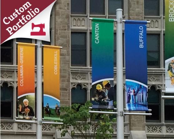 Custom Avenue Banner Portfolio