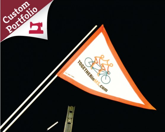 Custom Bicycle Flag Portfolio