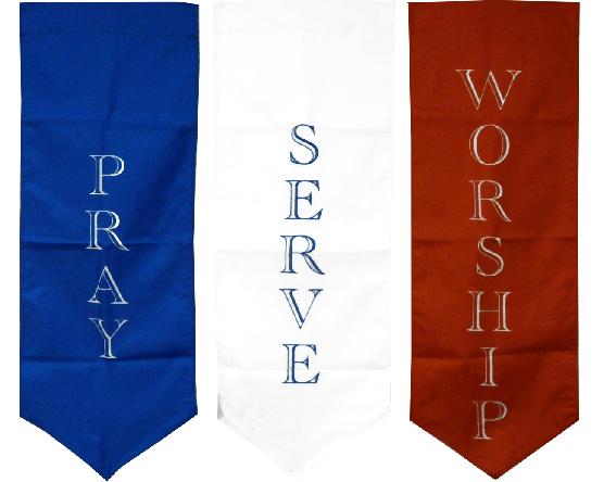 Pray, Serve, Worship