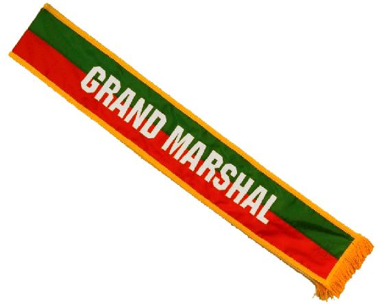 Red & Green Parade Sash