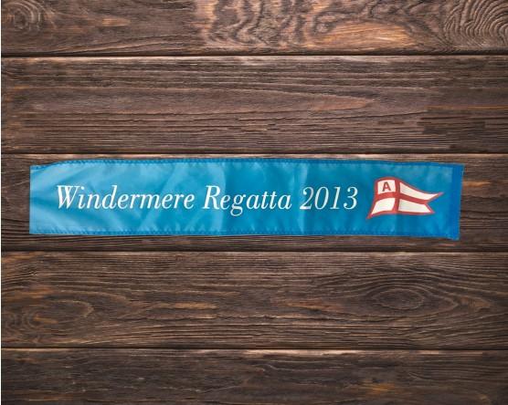 Custom screen print award ribbon