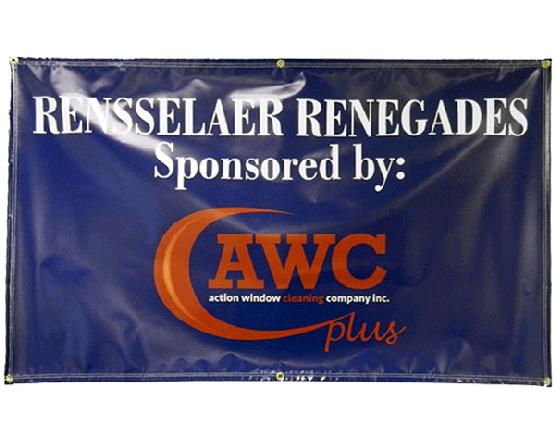Printed Sponsor Banner