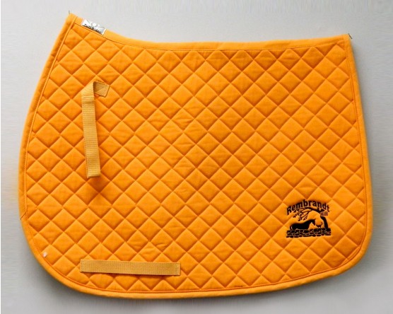 Embroidered Saddle Pad
