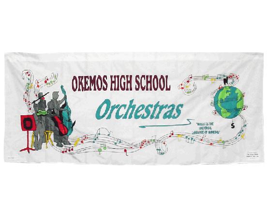 School Orchestra Banner