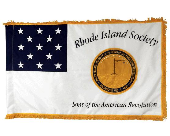 Applique Presentation/Parade Flag