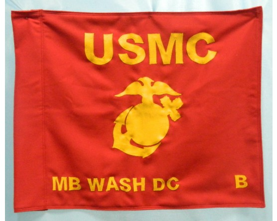 Alpha & Bravo USMC Wool Flag Sets