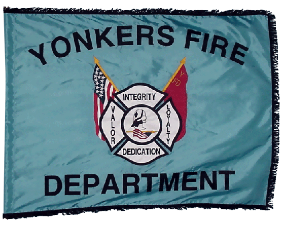 Custom fire company flag custom firefighter flags for Home goods in yonkers