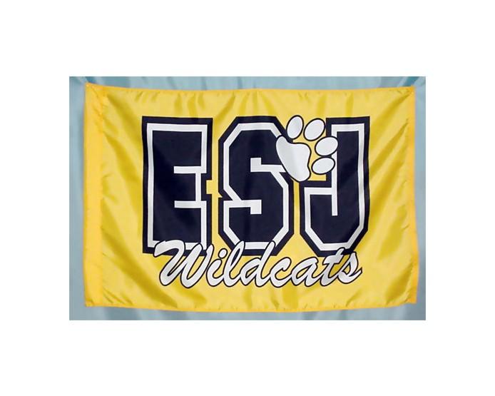 ESJ Wildcats School Flag