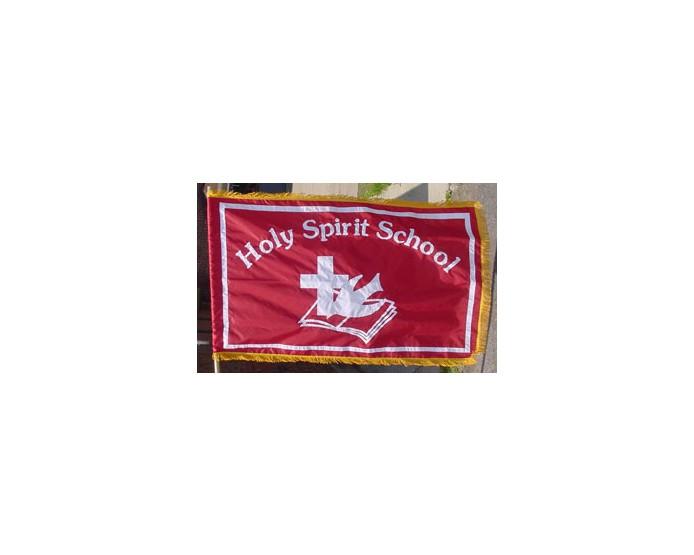 Indoor Fringed Flag