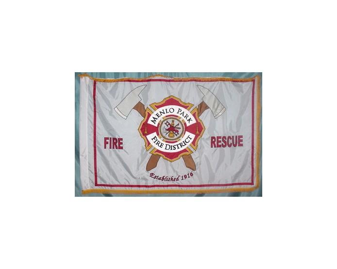 Menlo Park Fire District Marching Flag