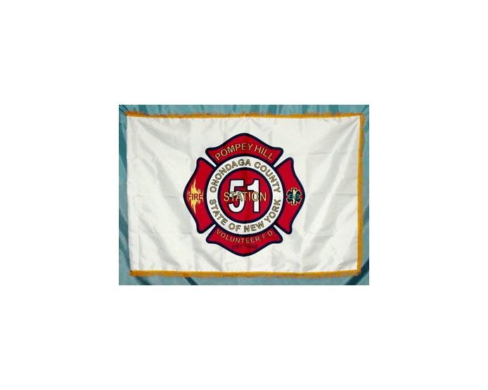 Pompey Hill Volunteer Fire Department Flag
