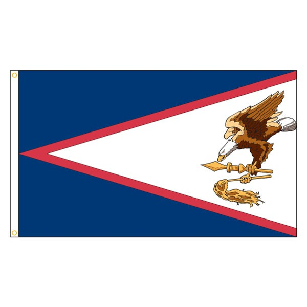American samoa flag outdoor territories flags american states