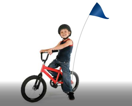 Bicycle Flags and Marker Flags - Shop Bike Flag Sets or