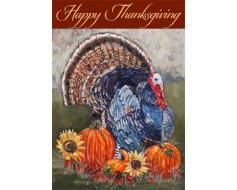 Thanksgiving Turkey Flag