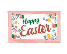 Happy Easter Flag - 3x5'
