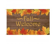 Fall Welcome Flag - 3x5'