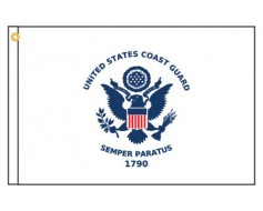 Coast Guard Motorcycle Flag