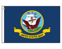 Navy Motorcycle Flag