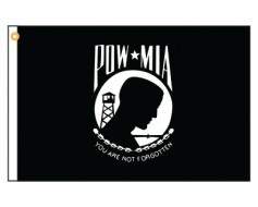 POW/MIA Motorcycle Flag