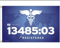 ISO 13485:2003 Flag