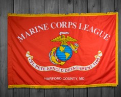 Custom Marine Corps League Flags & Banners Portfolio